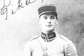 Heliodor Píka jako francouzský legionář v období 1. světové války.