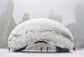 Spojené státy trápí třeskuté mrazy, rtuť teploměru se přiblíží až k minus padesáti …