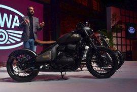 Jawa jde v Indii na dračku. Na motocykl legendární československé značky musí Indové čekat šest měsíců