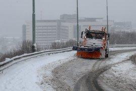 Na Česko se sype sníh (3.2.2019)