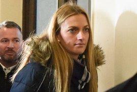 Petra Kvitová v úterý vypovídala u brněnského soudu, kde čelí obvinění z jejího přepadení Radim Žondra