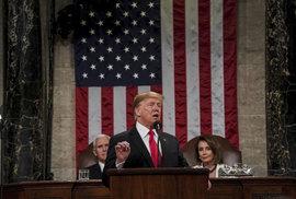 Donald Trump vyrazil za svým znovuzvolením. Na zdi s Mexikem trvá, v projevu…