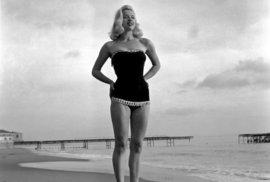 Britská herečka Diana Dors