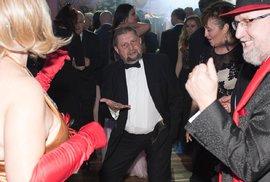 Štefan Harabin na plese v roce 2016