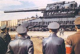 Těžký Gustav: Největší válečné dělo v dějinách sestrojili nacisté, jeho děsivá síla…