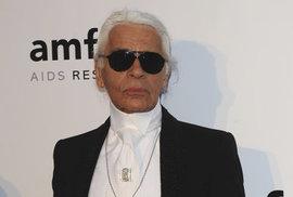 Ve věku 85 let zemřel návrhář Karl Lagerfeld