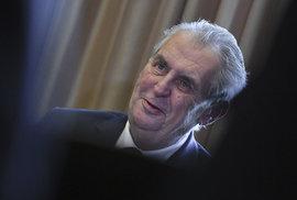 Zeman se omluvil za kritiku bývalého starosty Vídně. Za 30 let v politice je to jeho teprve druhá omluva