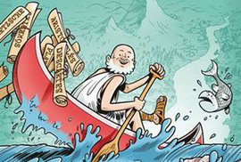 Jak nacpat celou západní filozofii do jednoho komiksu?