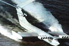 Kaspická příšera: Smrtící sovětská zbraň, která nepřátelům naháněla obrovský strach