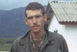 Peter Lemon během služby ve Vietnamu.