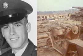 Marihuanou k medaili cti: Americký seržant vykouřil jointa a odrazil dvě vlny vojáků…
