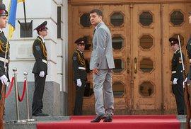 Prezidentský zázrak na Ukrajině? Hrdina seriálu hrál prezidenta, teď je favoritem…