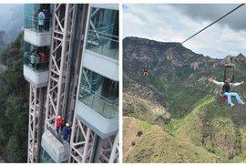 10 cestovatelských nej světa: Chodník smrti, nejdelší most, nejstarší město i nejvyšší venkovní výtah