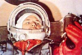 Jurij Gagarin uvnitř Vostoku 1.