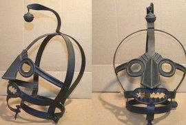 Uzda pro drbny: Pomluvy se ve středověku řešily pomocí zvláštní železné masky