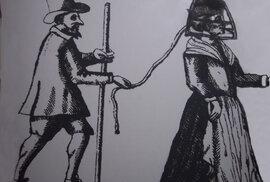Uzda pro drbny: Brutální nástroj, kterým se trestalo za pomluvy či neposlušnost