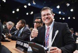 Maroš Šefčovič má šanci být slovenským prezidentem, musí ale postoupit do druhého kola