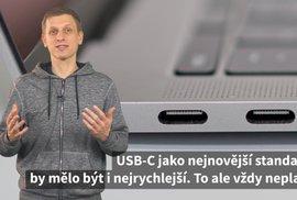 Ne vždy je USB-C nejrychlejší. Krátké video vám pomůže se zorientovat v konektorech vašeho počítače