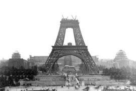 15 slavných staveb, jak je neznáte: Eiffelovka, Tower Bridge nebo Opera v Sydney, když ještě nestály
