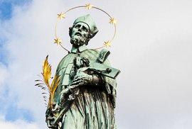 Jak vypadal svatý Jan Nepomucký? Vědci zrekonstruovali podobu jeho tváře