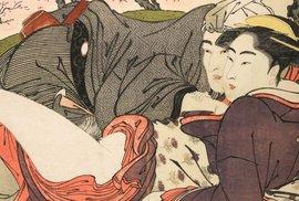 Pornografie, nebo umění? Unikátní japonské kresby měly novomanželům usnadnit svatební noc