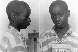 Čtrnáctiletý George dostal smrt na elektrickém křesle. Bělošská porota a soudce se s…