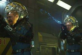 Vladimír Furdík coby strážce vesmírné lodě Prometheus