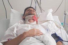 Jan Hušbauer je v intenzivní péči lékařů nemocnice v Krči