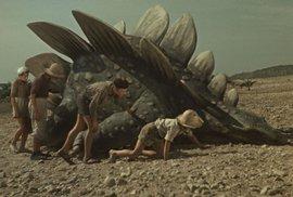 Ukázka z restaurované verze Cesty do pravěku Karla Zemana