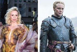 Představitelka Brienne z Tarthu ze Hry o trůny o své poslední scéně: Brečela jsem…
