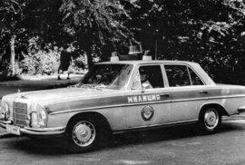 Západní automobily ve službách sovětské milice.