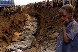 V roce 1994 dšlo během 100 dní ke zmasakrování 800 tisíc lidí ve Rwandě