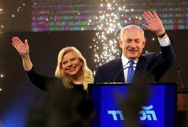 Benjamin Netanjahu s manželkou