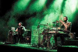 Zabelov Group hráli jako předkapela skotských Hidden Orchestra.