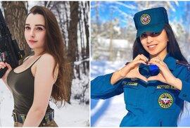 Nejen Izrael má krásky v uniformě. Ruské vojandy ukazují, že i Putinova armáda umí…
