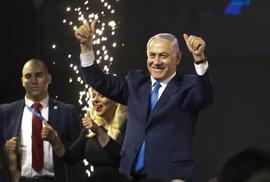 Netanjahu vstoupil do dějin: Znovu otočil výsledek voleb a popáté se stane premiérem. Přečtěte si, jak to dokázal