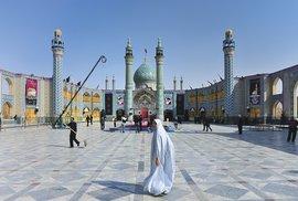 Mešita v měste Aran va Bidgol
