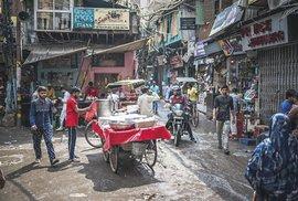 Uličky starého Dillí jsou vstupem do zcela jiného světa