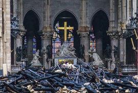 Miliardáři slíbili miliony eur na obnovu Notre Dame, teď dělají mrtvé brouky. Zatím…