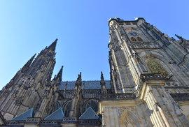 Bydlení ve věži: Před 150 lety žila přímo v chrámu sv. Víta rodina pražského…