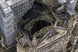 Okolí vyhořelé katedrály Notre Dame je kontaminované toxiny, varovala francouzská policie