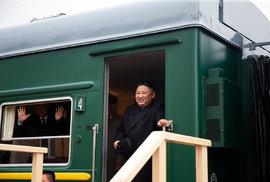 Kim Čong-un dorazil do Ruska