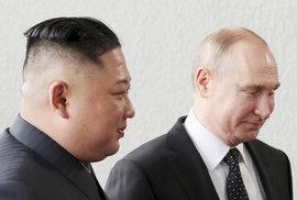 Mír na Korejském poloostrově podle Kima závisí na USA, s Putinem se mu jedná lépe…