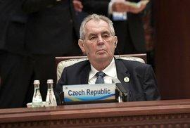 Ústavní žaloba na prezidenta Zemana je hotová. Senátoři popisují 7 skutků, kterými…