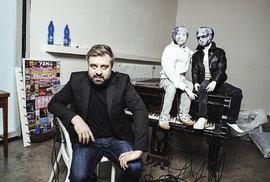 Baví mě sabotérská činnost, kdy se občas dostaneme do hitparád, říká producent Dušan Neuwerth