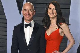 Příběh Jeffa Bezose od založení Amazonu až po rozvod. Kolik miliard z jeho majetku ho bude stát milenka?