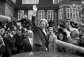 Margaret Thatcherová se před 40 lety stala první britskou premiérkou. Zlomila odbory a byla ikonou pravice