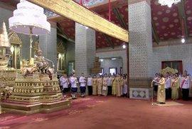 Korunovace thajského krále, kterým se stal Mahá Vatčirálongkóna, Ráma X. (4. 5. 2019)