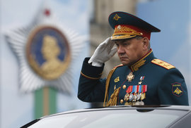 Rusko slaví výročí konce druhé světové války. Na Ruském náměstí v Moskvě se k příležitosti koná tradiční vojenská přehlídka (9.5 2019)