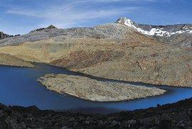 Laguna La Isla v národním parku El Cocuy